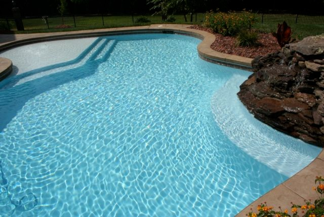 White Plaster The Pool Pros Orange County Newport