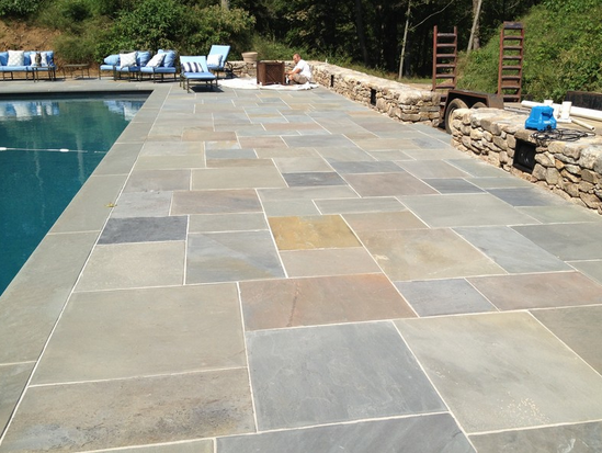Stone Work The Pool Pros Orange County Newport Beach Pool - Different types of patios