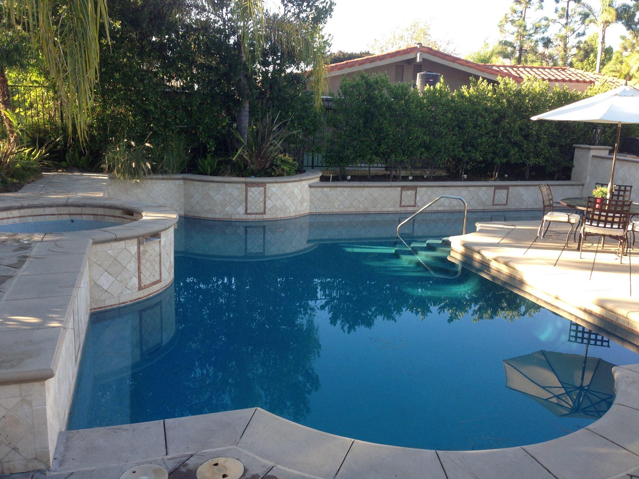 Water Color Quartz The Pool Pros Orange County Newport Beach Service Contractor